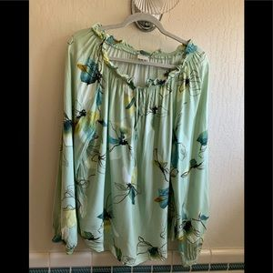 A new day rayon blouse(3/$30)